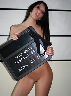 Badass Teenage Seductress Extraordinaire Misty Gates' Mugshot