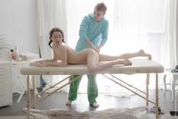 Pigtailed Teen Gabi Sex Massage - pics 04